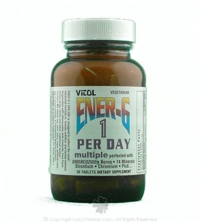 DROPPED: Vitol - Ener-G 1 per Day - 30 Tablets CLEARANCE PRICED