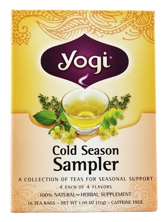 Zoom View - Cold Season Tea Sampler Caffeine Free