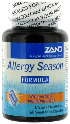DROPPED: Zand - Allergy Season Formula - 60 Vegetarian Capsules