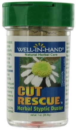 DROPPED: Wellinhand - Cut Rescue Herbal Styptic Duster - 1 oz.