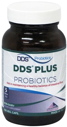 DROPPED: UAS Laboratories - DDS Plus Probiotics Non-Dairy - 100 Vegetarian Capsules CLEARANCE PRICED