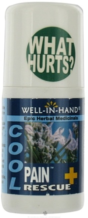 DROPPED: Wellinhand - Pain Rescue Cool Roll-on - 2 oz.