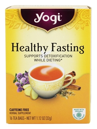 Zoom View - Healthy Fasting Organic Red Clover Tea Caffeine Free