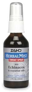 DROPPED: Zand - Herbal Mist Throat Spray - 2 oz. CLEARANCE PRICED