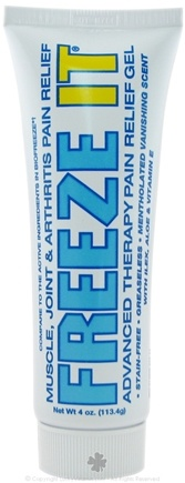 DROPPED: Zim's - Freeze It Gel Advanced Therapy Pain Relief - 4 oz.