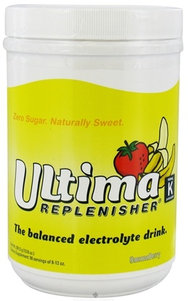 DROPPED: Ultima Health Products - Ultima Replenisher Drink 90 Servings Banana Berry - 13.8 oz.