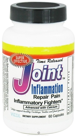 DROPPED: Vitol - Time Released Joint Inflammation - 60 Capsules
