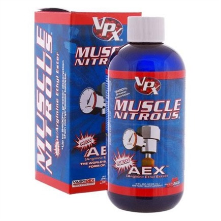 DROPPED: VPX - Muscle Nitrous RTD with AEX 4 x 8oz. (4 pack) - CLEARANCE PRICED