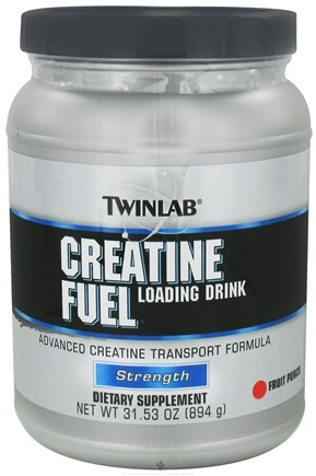 DROPPED: Twinlab - Creatine Fuel Drink Fruit - 31.3 oz.
