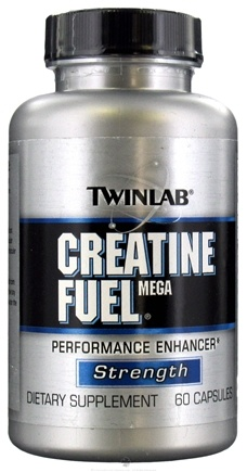 DROPPED: Twinlab - Creatine Fuel Mega - 60 Capsules CLEARANCE PRICED
