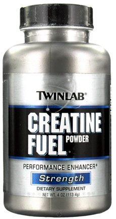 DROPPED: Twinlab - Creatine Fuel Powder - 4 oz. CLEARANCE PRICED