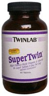 DROPPED: Twinlab - Supertwin Multivitamin & Mineral - 60 Tablets