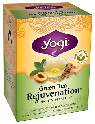 DROPPED: Yogi Tea - Green Tea Rejuvenation - 16 Tea Bags