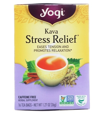Zoom View - Kava Stress Relief Natural Organic Caffeine Free
