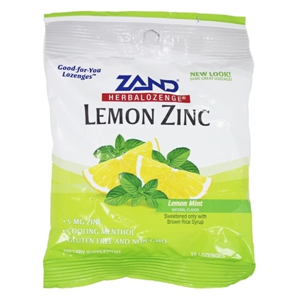 Zoom View - Herbalozenge Lemon Zinc