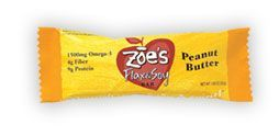 DROPPED: Zoe Foods - Whole Grain Energy Bar Peanut Butter Paradise - 1.69 oz.
