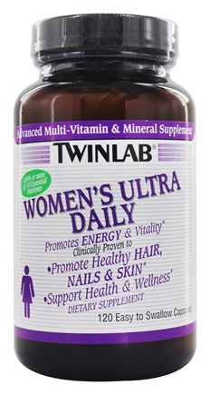 Twinlab - Womens Ultra Daily Caps - 120 Capsules