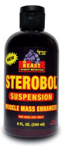 DROPPED: Beast Sports Nutrition - Sterobol Suspension - 240 ml.