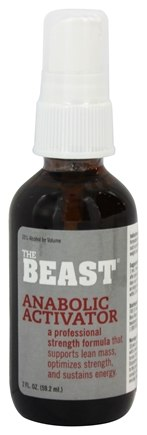 Beast Sports Nutrition - Anabolic Activator Liquid - 2 oz.