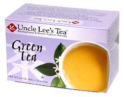 DROPPED: Uncle Lee's Tea - Green Tea With Jasmine - 20 Tea Bags