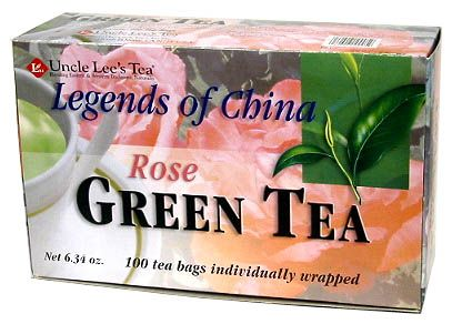DROPPED: Uncle Lee's Tea - Legends Of China Rose Tea - 6.34 oz.
