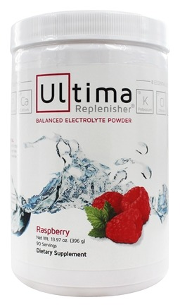DROPPED: Ultima Health Products - Ultima Replenisher Drink 90 Servings Red Raspberry - 14 oz. (formerly Wild Raspberry)