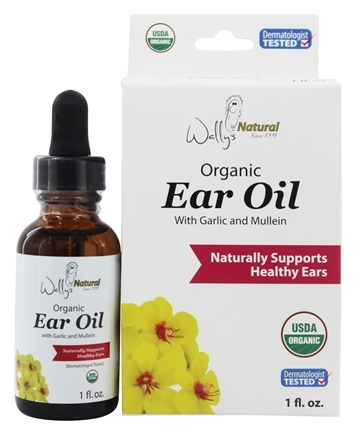 Wally S Natural Products Organic Ear Oil