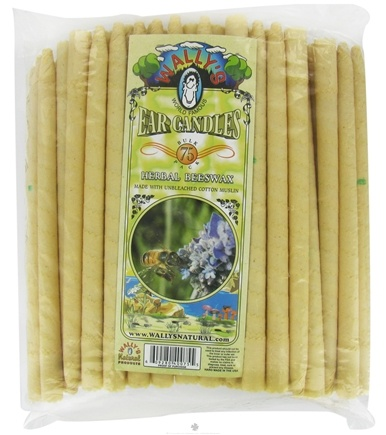 DROPPED: Wally's Natural Products - Ear Candle Herbal Beeswax - 75 Pack(s) CLEARANCE PRICED