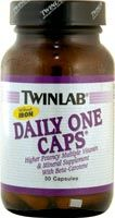 DROPPED: Twinlab - Daily One Caps without Iron - 30 Capsules