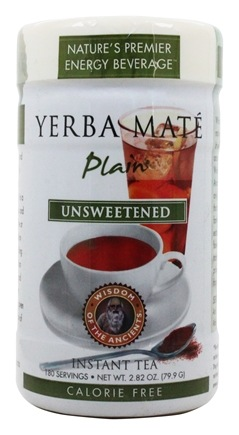 Zoom View - Instant Plain Yerba Mate Tea