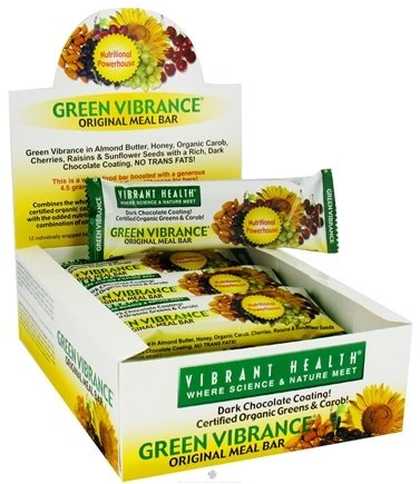 DROPPED: Vibrant Health - Green Vibrance Original Meal Bar - 2.12 oz.