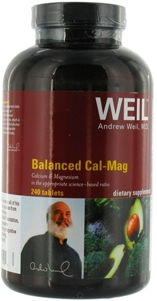 DROPPED: Weil Nutritional Supplements - Balanced Cal-Mag - 240 Tablets