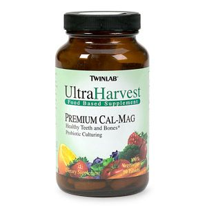 DROPPED: Twinlab - Ultra Harvest Premium Cal-Mag - 90 Tablets