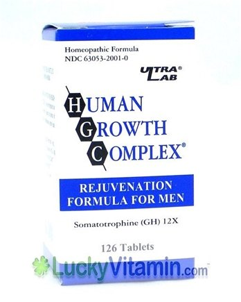 Zoom View - Human Growth Complex For Men