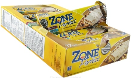 DROPPED: Zone Perfect - All-Natural Nutrition Bar Peanut Toffee - 1.76 oz.