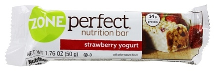 Zone Perfect - All-Natural Fruitified Nutrition Bar Strawberry Yogurt - 1.76 oz.