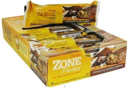 DROPPED: Zone Perfect - All-Natural Nutrition Bar Chocolate Coconut Crunch - 1.76 oz. CLEARANCED PRICED
