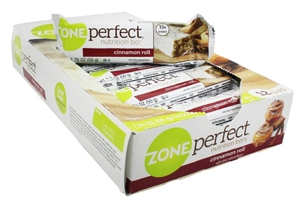 DROPPED: Zone Perfect - All-Natural Nutrition Bar Cinnamon Roll - 1.76 oz.