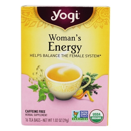 Zoom View - Woman's Energy Tea 100% Natural