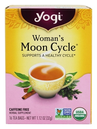 Yogi Tea - Woman's Moon Cycle with Organic Raspberry Leaf - 16 Tea Bags