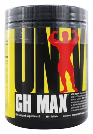 Universal Nutrition - GH Max GH Support Supplement - 180 Tablets
