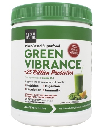 Zoom View - Green Vibrance Version 11.0 Concentrated Superfood