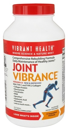 Vibrant Health - Joint Vibrance Version 4.0 - 252 Tablets