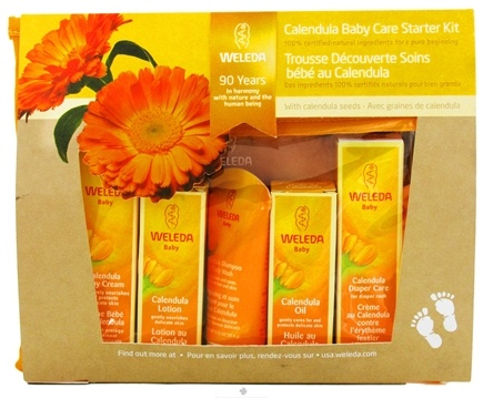 DROPPED: Weleda - Calendula Baby Care Starter Kit - CLEARANCE PRICED