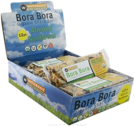 DROPPED: Wellements - Bora Bora Organic Snack Bar Almond Sunflower - 1.4 oz.