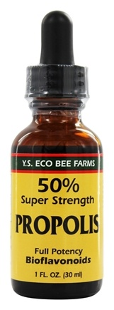 YS Organic Bee Farms - 50% Super Strength Propolis Tincture - 1 oz.
