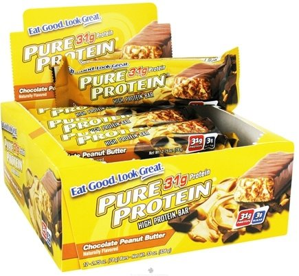 DROPPED: Pure Protein - High Protein Bar Chocolate Peanut Butter - 2.75 oz.