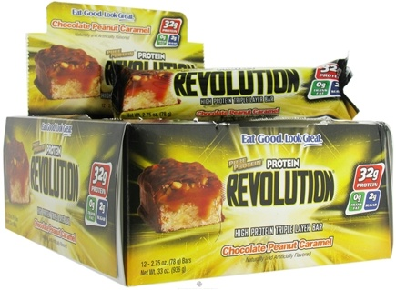 DROPPED: Pure Protein - Revolution Bar Chocolate Peanut Caramel - 2.75 oz. CLEARANCED PRICED