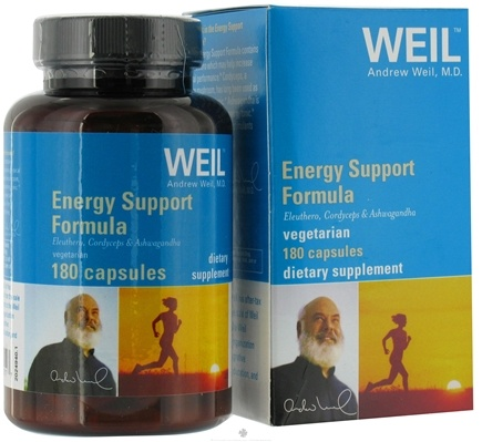 DROPPED: Weil Nutritional Supplements - Energy Support Formula - 180 Vegetarian Capsules CLEARANCE PRICED