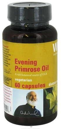 DROPPED: Weil Nutritional Supplements - Evening Primrose Oil - 60 Vegetarian Capsules